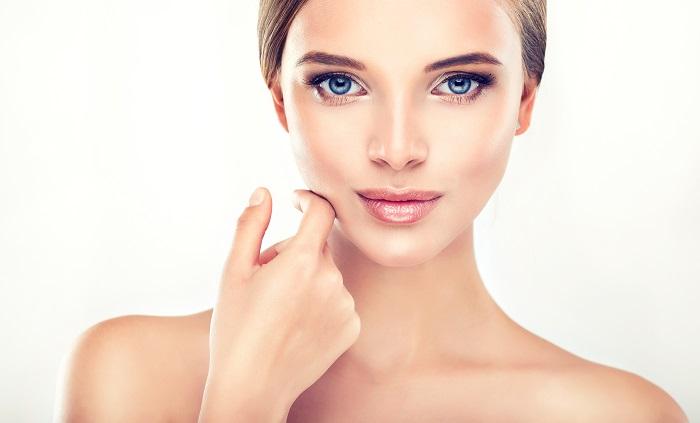 model for skin care